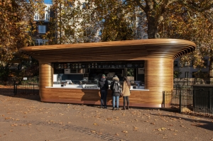 Designer kiosks at London's royal parks have Maltese signature