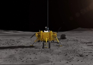 Chinese space probe lands on the dark side of the Moon