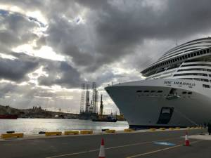 With bigger cruise ships, Valletta port infrastructure needs expanding