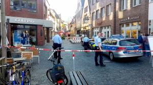 Three dead in Germany as van ploughs into crowd in Muenster