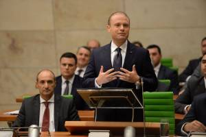 Opposition walks out of Parliament, Muscat insists nobody yet accused with assassination