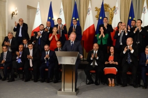 [WATCH] Joseph Muscat sheds tears of relief after 15-month ordeal