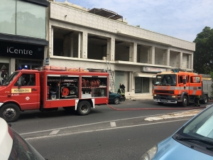 Fire at Lambretta showroom in Pieta