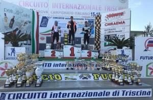 Nicky Gauci wins 125 Rotax Max karting race at Triscina in Sicily 	- Jake Agius wins the pre-final race