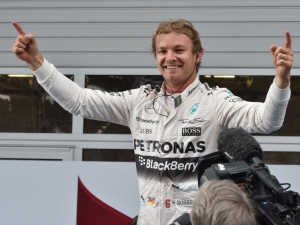 Nico Rosberg wins the Austrian Grand Prix