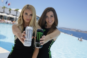 Monster energy drink convention in Malta