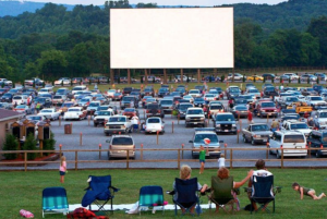 Ever heard of outdoor cinemas? You can do it in COVID times, it seems
