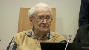 Convicted Auschwitz guard pleads for mercy