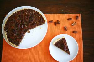 Whisky pecan pie