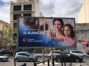 [WATCH] Updated | Joseph Muscat stays out of PN's cancer billboard controversy