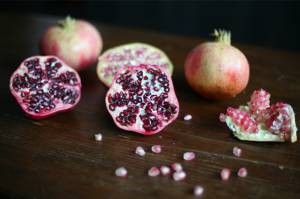 Three recipes to make use of local pomegranates