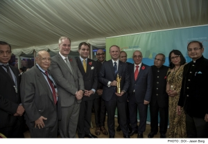 Muscat receives award from Indian-European Business Forum