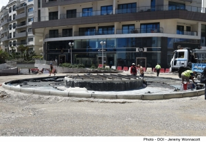 €1.5 million project underway to make busy Paceville junction safer