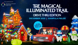 The magical illuminated trail: drive-thru edition