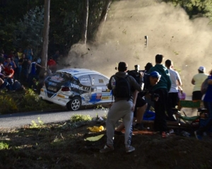 Rally car crash kills six spectators, injures many more