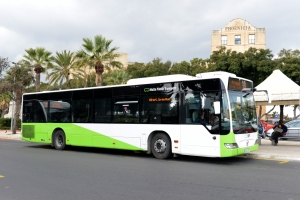 Buses carried 53.4 million passengers in 2018