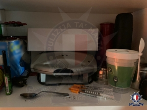 Four arrested in Gzira drug bust