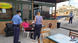 Police shutter Marsa cafés over hygiene while running ID checks on migrants
