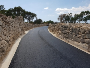 10 kilometres of new roads in rural areas completed since May