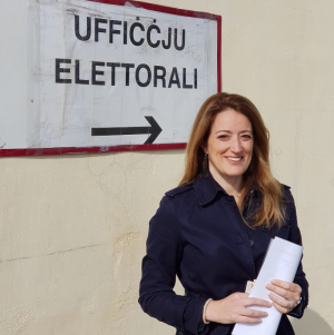 Roberta Metsola is Malta's most active MEP