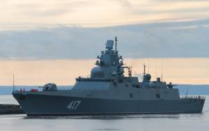 UK intercepts Russian warship in North Sea on Christmas Day
