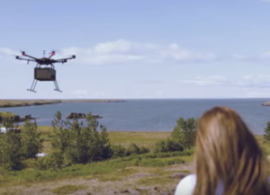 Iceland gets an on-demand drone delivery service