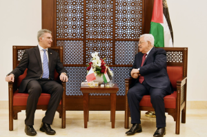 [WATCH] Maltese Foreign Minister meets Palestinian leader Mahmoud Abbas