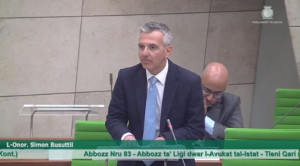 AG law a parody and smokescreen for more government control - Simon Busuttil