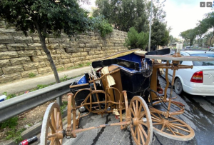 Carriage driver hospitalised after horse runs wild in Marsa
