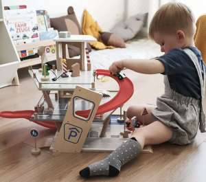 The simple joy of a wooden toy could be Christmas's greatest find