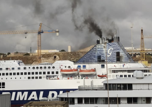 Cruise liner emissions in Cottonera: 'Our washing discoloured by polluted air'
