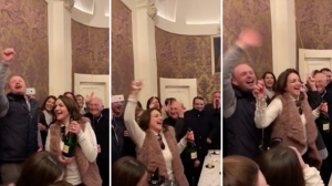 [WATCH] Joseph Muscat lets his hair down at Girgenti in leaked WhatsApp vid