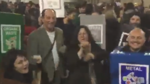 [WATCH] MPs just wanna have fun! Godfrey and Marlene Farrugia get into the carnival spirit