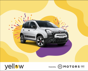 Win a Fiat Panda Hybrid with Yellow's giveaway spree