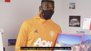 Paul Pogba wants to swim in Malta… as long as there are no sharks