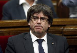 Former Catalan leader Carles Puigdemont remanded in custody