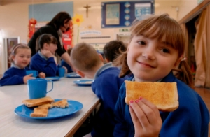 Roughly 20% of primary school students enrolled in Breakfast Club