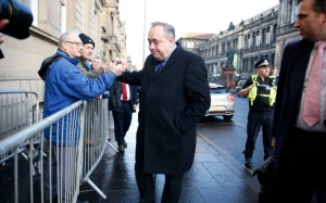 Former Scottish First Minister Alex Salmond charged with attempted rape