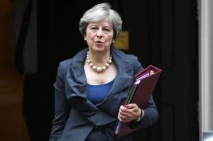 Theresa May set for further talks with EU leaders