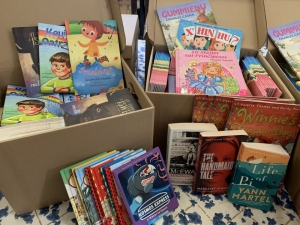 Kids stuck at home fight boredom with free books for World Book Day