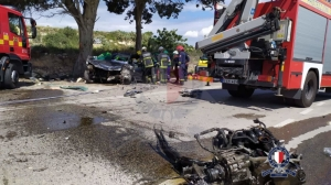 Young man dies after crashing car into a tree in Rabat