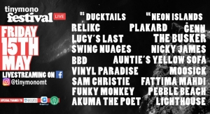 [WATCH] Tinymono online music festival is Friday's big night in