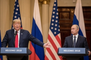 [WATCH] Trump and Putin deny election meddling on TV interviews