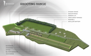 Busbesija shooting range proposed to MEPA in 2012
