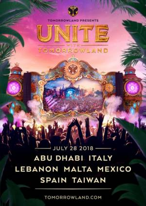 Unite with Tomorrowland returns on 28 July at Marsa sports grounds