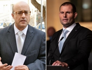 Robert Abela threatens Jason Azzopardi with 'serious story' in wake of frame-up allegation