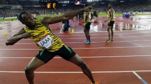 Bolt leads Jamaica to 4x100m glory