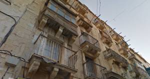 Several Valletta façades undergo restoration works