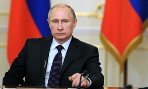 Putin says Russia is not seeking to divide the EU