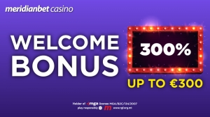 Meridianbet offers 300% welcome bonus for new players